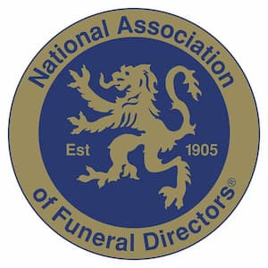 The National Association of Funeral Directors logo